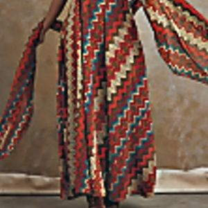 "Ashro Dresses - Ashro ""Sayanna Ethnic Dress"" Sz. 3X Multi"